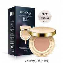 ( 1 plus 1 refill ) Exquisite and Delicate BB CC Cream Air Cushion By BIOAQUA