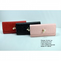 Dompet Princess Pearls Lipat| Dompet Fashion| Dompet Korea