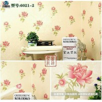 Wallpaper Sticker 10m Motif Bunga Bunga