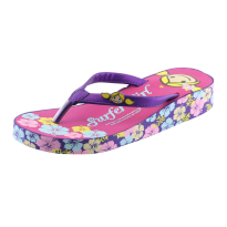 Sandal Wedges Surfer Girl Limited Edition SG C030 Ungu-Fusia
