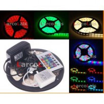 LED Strip Lamp RGB 3528 300 LED + Remote lampu hias dekorasi interior