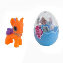 My Little Horse Pony sisir Egg - Mainan Pony Telur