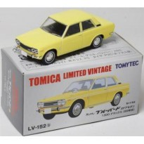 Lv 152b Datsun Bluebird 2 door Sedan yellow Tomica Limited Vintage
