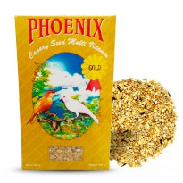 PAKAN BURUNG KENARI BLACKTHROAT SANGER MULTIVITAMIN GOLD PHOENIX