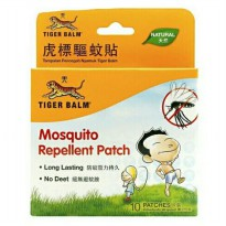Tiger Balm Mosquito Repellent 10 patches