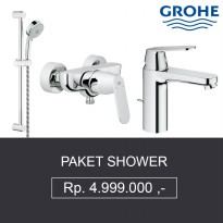 Paket Shower Grohe ( Shower + Bath Mixer + Kran Air ) Berkualitas Tinggi