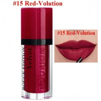BOURJOIS ROUGE EDITION VELVET 15 RED-VOLUTION