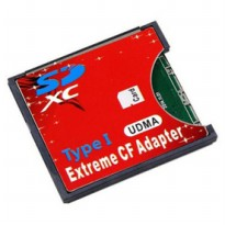 Adapter Extreme SD Card ke Compact Flash