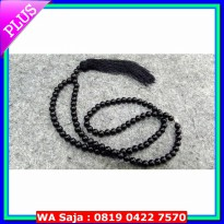 Tasbih Batu Natural Tasbih Batu Natural Black Onyx 99 Butir 8mm