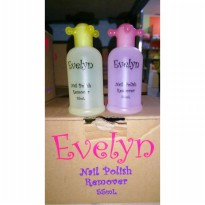 Original Evelyn Nail Polish Remover | Penghapus Kutek 55ML