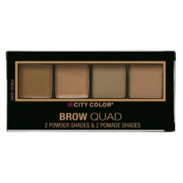 Original city color brow quad warna light