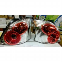 212-19N4P-AEVCR STOP LAMP T. YARIS 2005 (LED-CLEAR/RED)