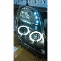 TOYOTA YARIS 2005-2008 PROJECTOR BLACK HOUSING INCLUDE HALOGEN BULBS