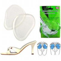 Massaging Gel Cushion Pad High Heel Shoes Alas Sepatu