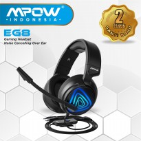 (POP UP AIA) Mpow EG8 Gaming Headset Noise Cancelling Over Ear MPBH318AD