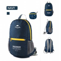 NatureHike Tas Ransel Backpack Lipat Sporty 15L - Navy Blue