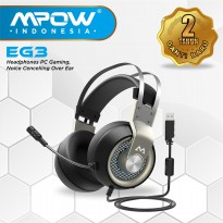 (POP UP AIA) Mpow EG3 Headphones PC Gaming Noise Cancelling Over Ear MPBH209AH