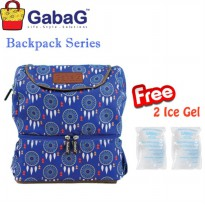 Gabag Cooler Bag Kirey Tas Asi Ransel (Free 2 pack ice gel)