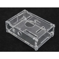Acrylic Case for Raspberry Pi Model B - Transparent