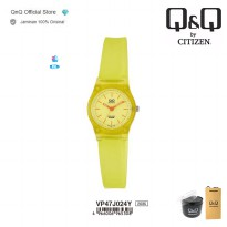 Q&Q QnQ QQ Original Jam Tangan Wanita Analog Fashion - VP47 VP47J Water Resist