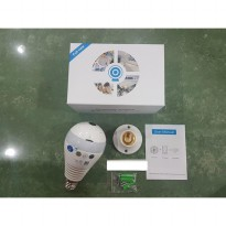 Wireless Light Bulb Ip Camera 960P