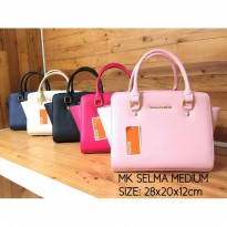 Termurah! TAS MK / MICHAEL KORS SELMA MEDIUM CREAM