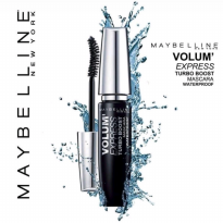 MAYBELLINE Volum Express TURBO BOOST Mascara Waterproof - Hitam