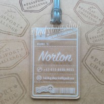 Termurah! BAG/LUGGAGE TAG - (DESIGN: NORTON)