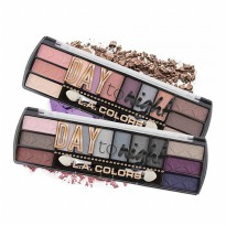 FREE ONGKIR [12 Variant) LA Colors Day To Night Eyeshadow