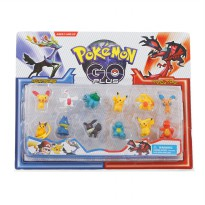 Pokemon Go - 12 pcs figure pokemon - 3+