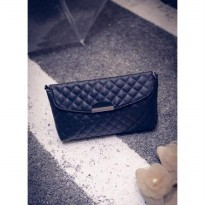 Termurah! TAS SLEMPANG CLUTCH KULIT RETRO SHOULDER CHAIN MANGO CLUTCH BAG BTA100