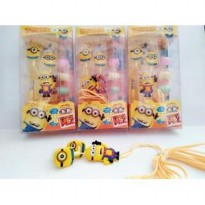 HANDSFREE / HEADSET KARAKTER MINION / MINIONS DESPICABLE ME 2