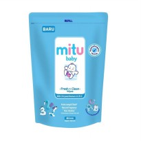 Mitu Fresh and Clean With Natural Oil 60 lembar