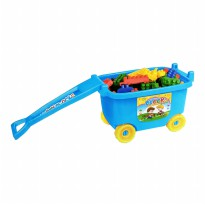 Blocks in Car / Wagon Multi Function 69 Pcs - multifunction block Besar