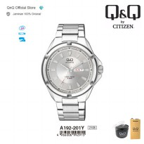 Q&Q QnQ QQ Original Jam Tangan Pria Analog Formal - A192 A192J Water Resist
