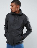 Hollister Rain Jacket in Black