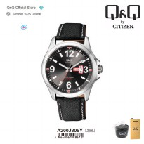 Q&Q QnQ QQ Original Jam Tangan Pria Analog Formal Sport - A200 A200J Water Resist