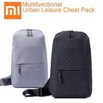 Termurah! ORIGINAL XIAOMI MULTIFUNCTIONAL CHEST PACK CROSSBODY BAG SHOULDER BACK