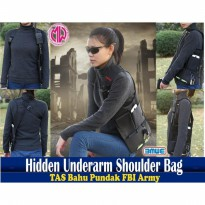 Termurah! ANTI-THIEF HIDDEN UNDERARM SHOULDER BAG ORGANIZER (TAS FBI INSPECTOR)