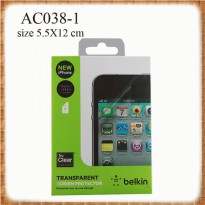 Anti gores iphone 5 belkin - AC038-1 SJ0034