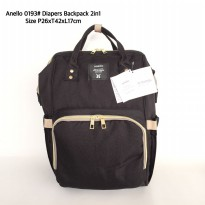 Anello Diapers Backpack Premium 2in1 - Black
