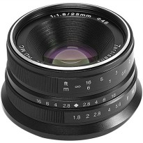 7artisans 25mm f/1.8 Lens for Olympus M4/3 Camera