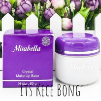 [DISKON] MIRABELLA Crystal Make Up Base Normal to Oily - 60 gr