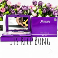 [DISKON] Mirabella Beauty Kit Eye Shadow Kit Dark Grey