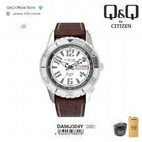 Q&Q QnQ QQ Original Jam Tangan Pria Analog Formal - DA96 DA96J Water Resist