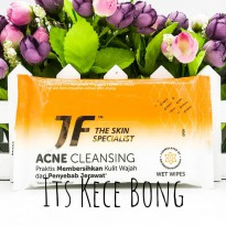 [DISKON] JF Wet Wipes Acne Care isi 10 Lembar