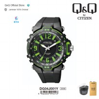 Q&Q QnQ QQ Original Jam Tangan Pria Analog Fashion - DG04 DG04J Water Resist