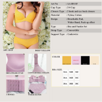 Arrow Apple - Bra - Free Celana Dalam - Extra Push Up - 11 - 1 Pcs