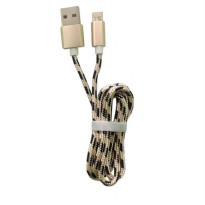 Wellcomm Kabel Charger 2in1 Micro USB & Iphone 5 & 6