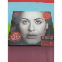 Cd Adele 25 Target Exclusive Original 3 Disc Imported China Promo Murah08